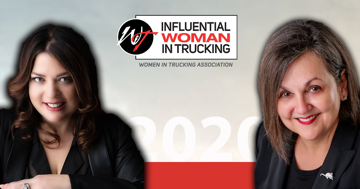 2020 Influential Woman in Trucking Winners