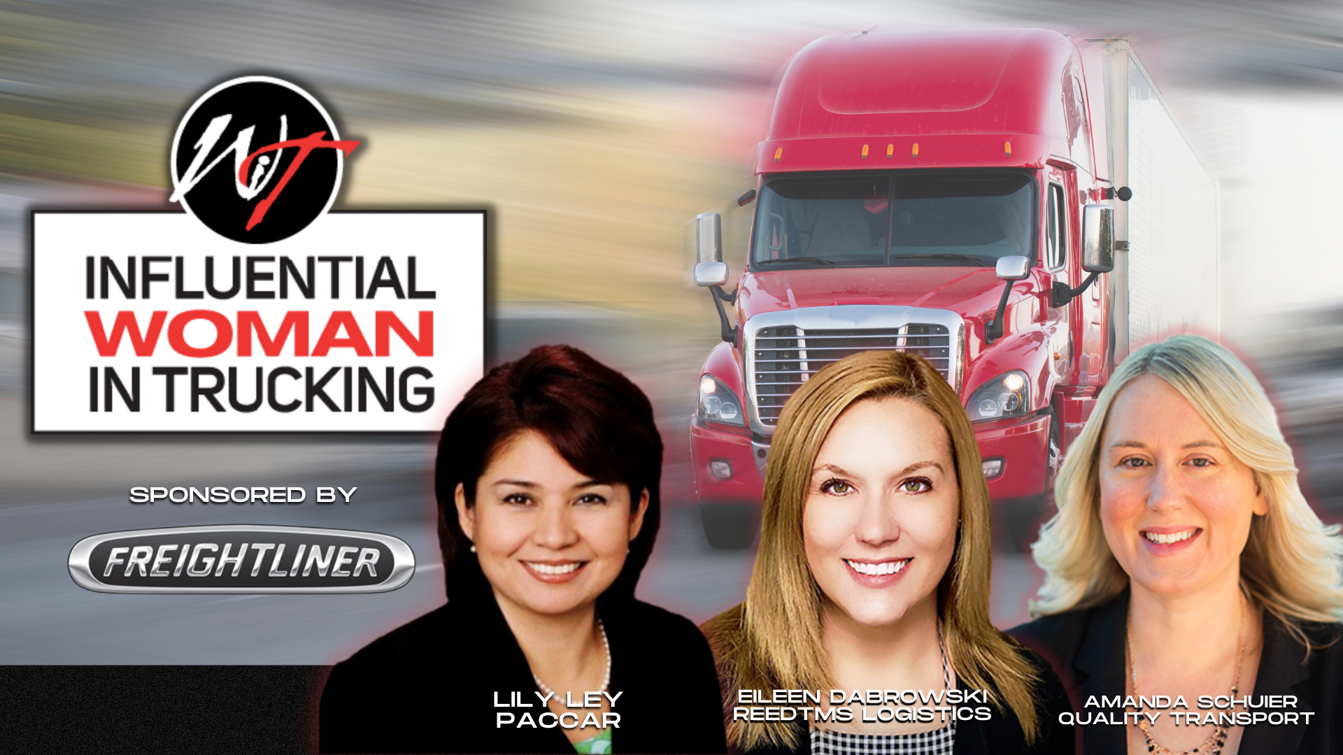 2021 Influential Woman in Trucking Finalists
