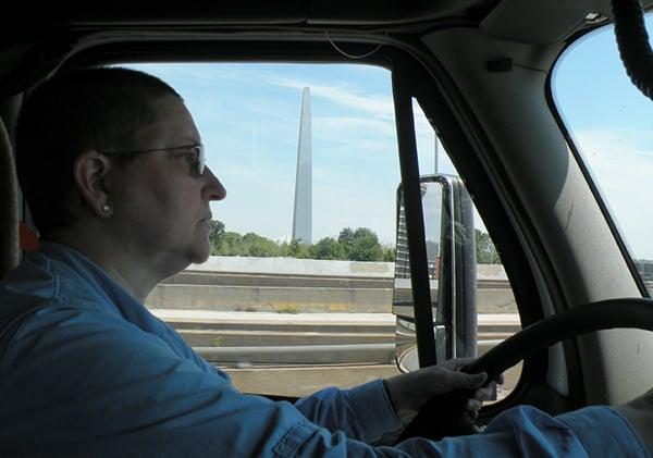 Sandy Goche Driving