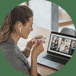 Woman-coffee-networking-circle