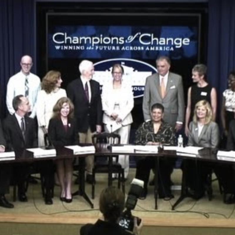 champions of change timeline