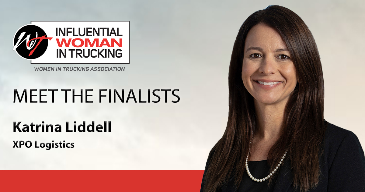 Meet the Influential Woman in Trucking Finalists: Katrina Liddell