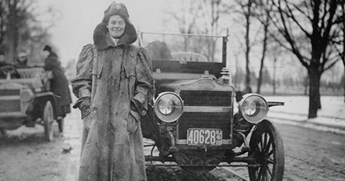 HERstory: First Woman to Drive Coast to Coast