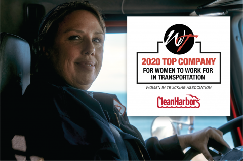 Women In Trucking Names Clean Harbors 'Top Company for Women to Work'