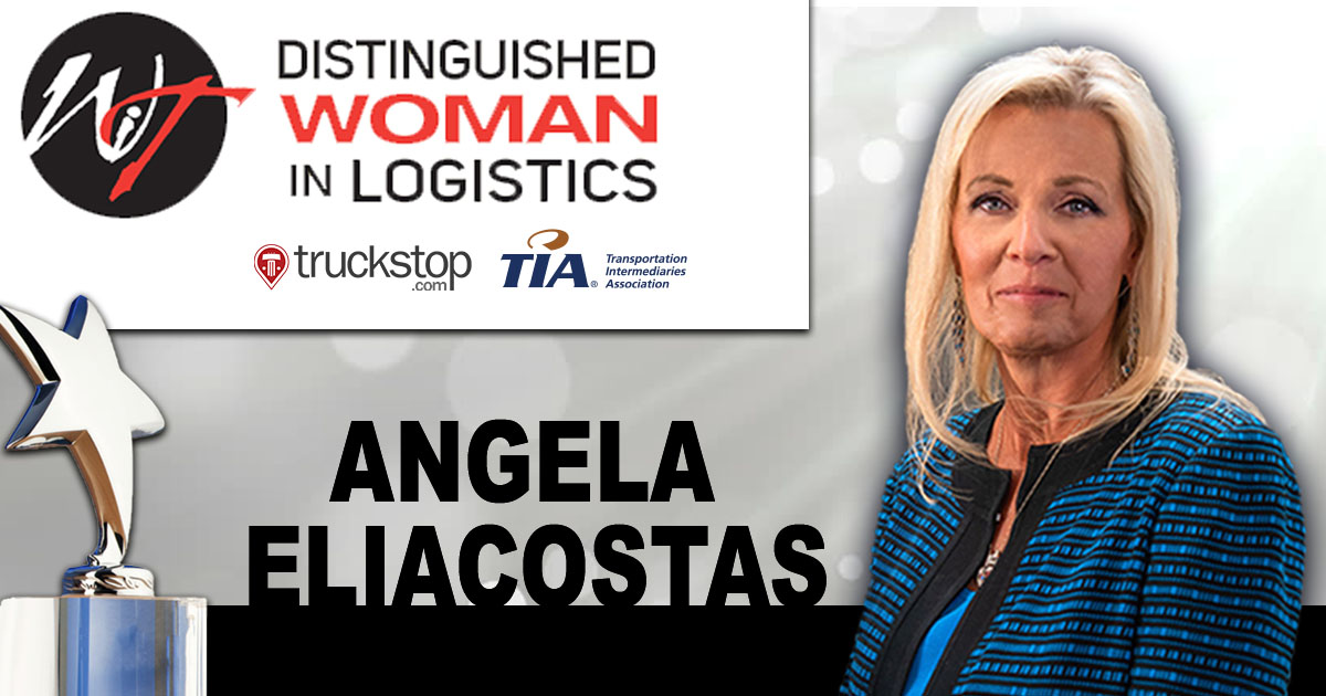 Women In Trucking Association Names Eliacostas the 2021 Distinguished Woman in Logistics