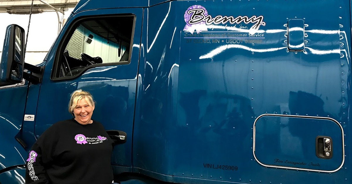 Women In Trucking Announces its April 2021 Member of the Month