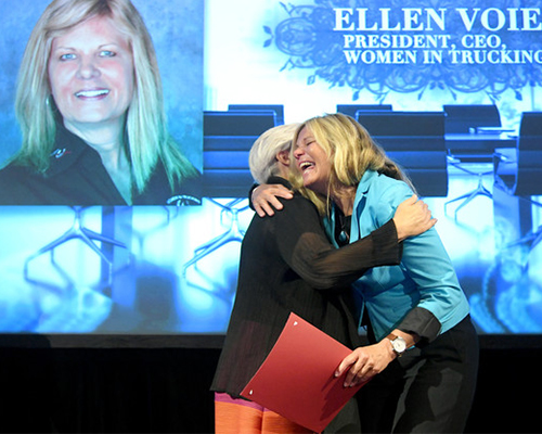 Women In Trucking Association President and CEO Ellen Voie Named Cinderella to CEO of the Year