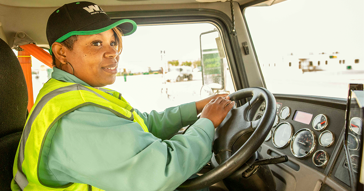 Waste Management Women Driving Change