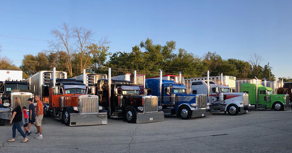 Driver Ambassador:Trucker Love at Waupun Truck-N-Show
