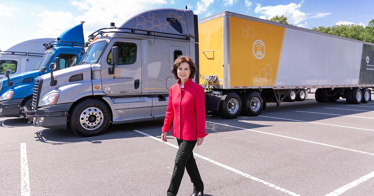 A Conversation with U.S. Secretary of Transportation Elaine Chao