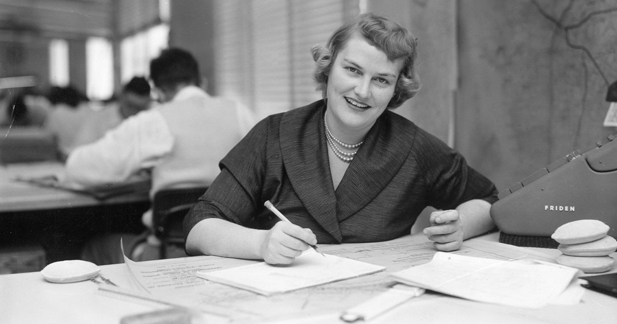 HERstory: First Female Licensed Engineer in California