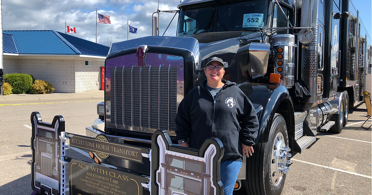 WIT Honors Driver at the Richard Crane Memorial Truck Show