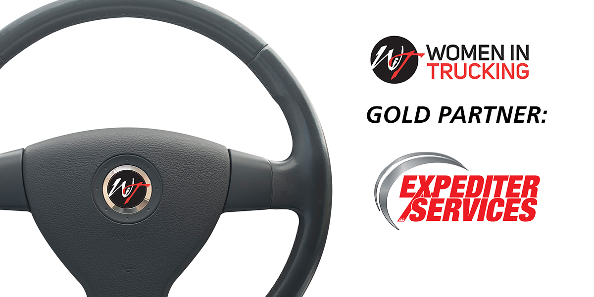 Women In Trucking  Continues Gold Partnership with Expediter Services