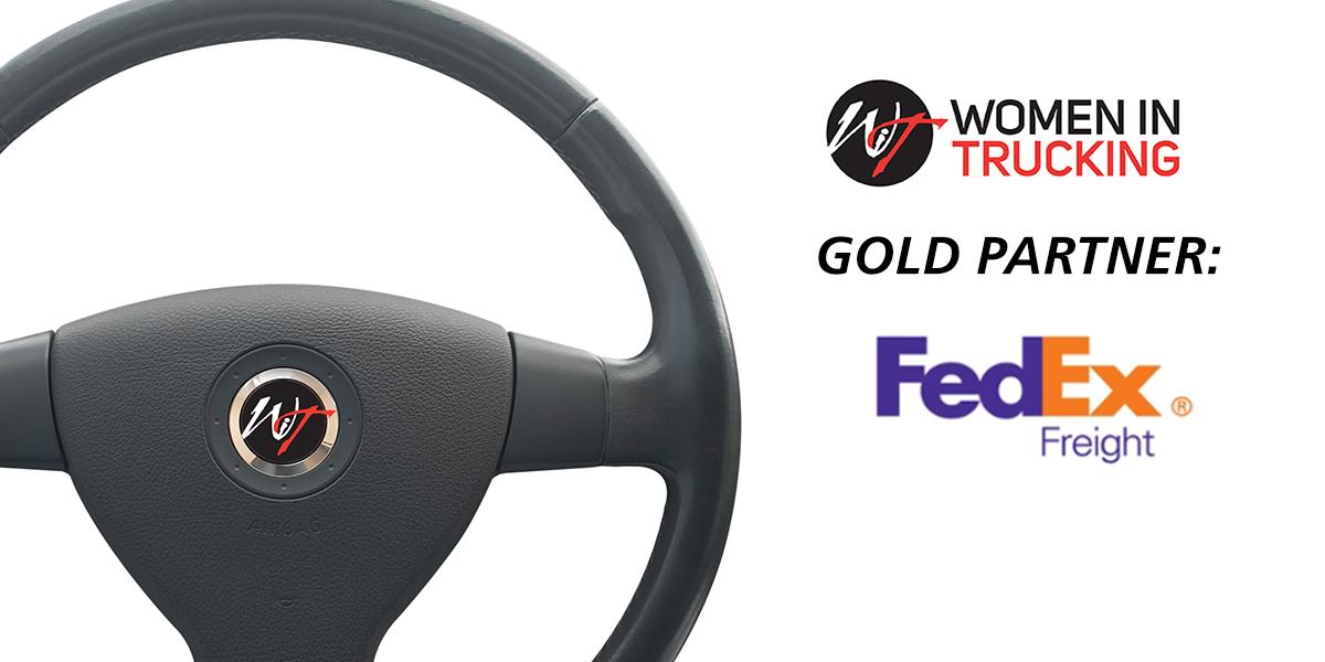 Women In Trucking Association Announces Gold Level Sponsorship through FedEx Freight