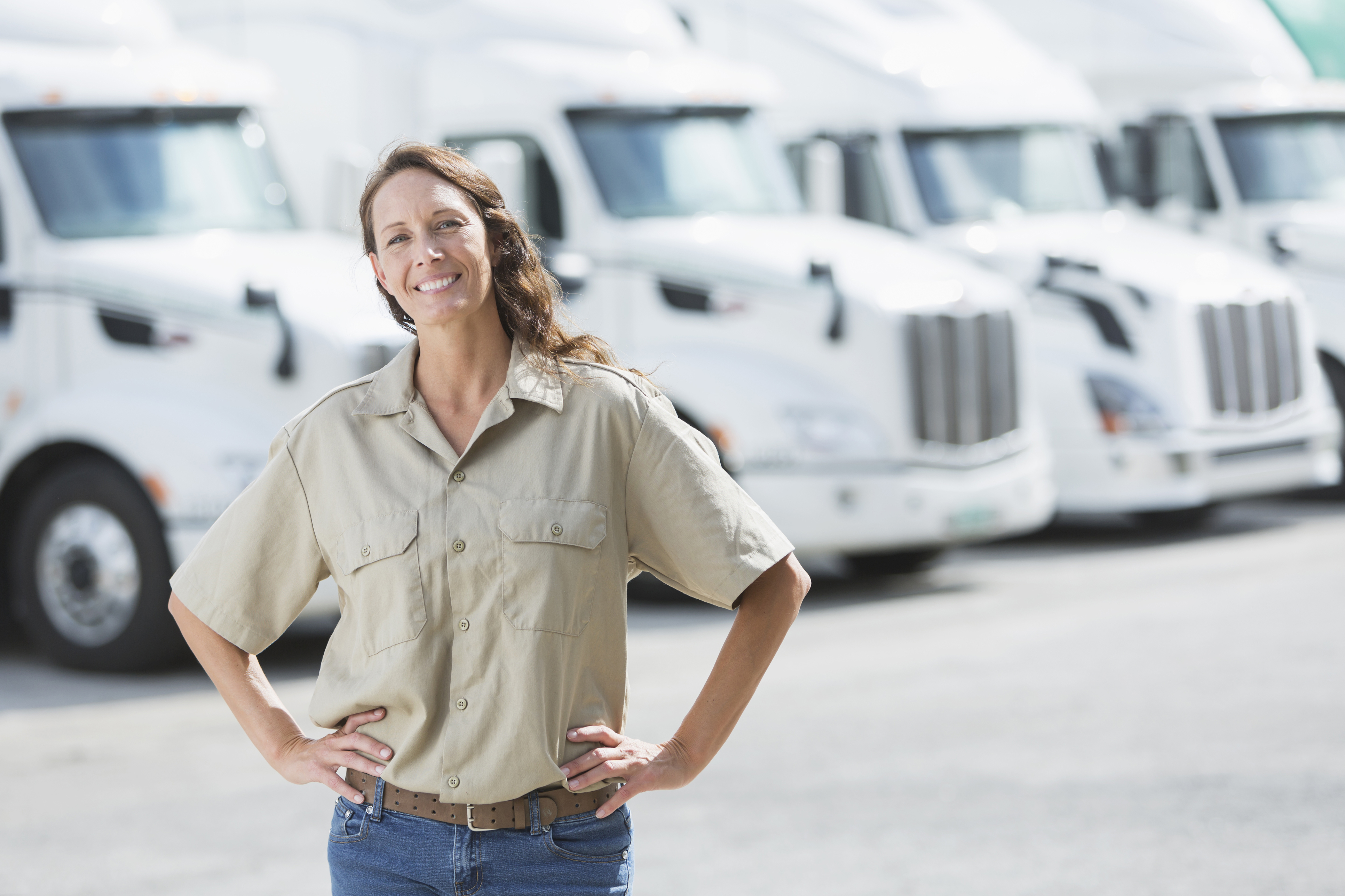 Why Women are the (Right) Answer to the Trucking Industry's Driver Shortage